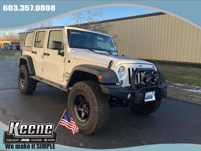 New 2018 JEEP Wrangler Unlimited AEV 250 Sport