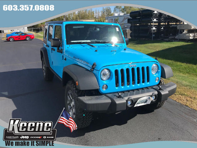 New 2017 Jeep Wrangler Jk Rubicon Sport Utility In Keene
