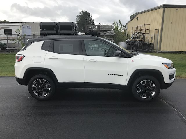 New 2018 Jeep Compass Trailhawk Sport Utility in Keene # ...
