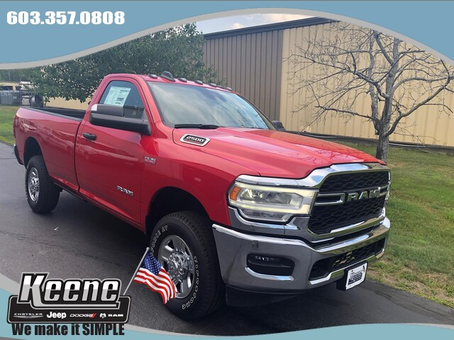 NEW 2019 RAM 2500 TRADESMAN REGULAR CAB 4X4 8' BOX