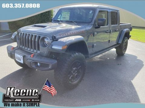 New Jeep Gladiator For Sale In Keene Nh