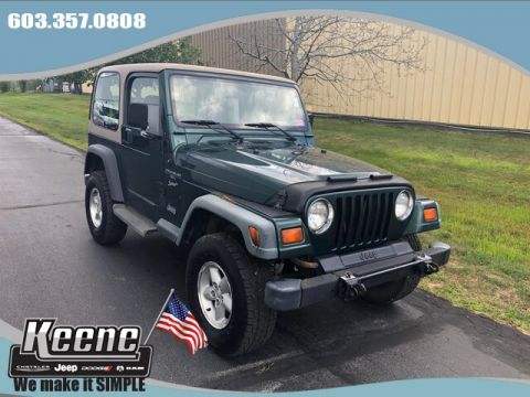 Pre-Owned 1999 Jeep Wrangler Sport