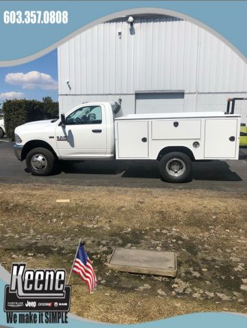 New 2018 RAM 3500 Chassis Cab Tradesman/SLT Utility Body